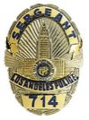 Police Sergeant badge